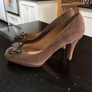 Joan and David heels